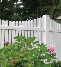 white picket fence in delaware, ocean view, bethany, rehoboth beach